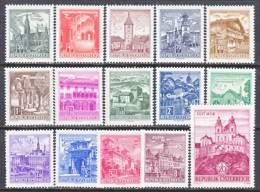 Austria 688-702    ** - 1961-70 Unused Stamps