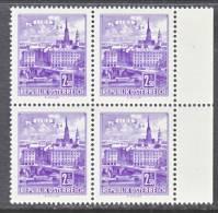 Austria 698 X 4     ** - 1961-70 Unused Stamps