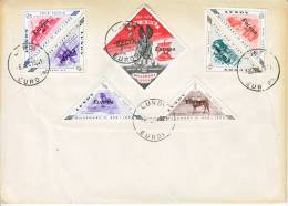 Lundy Cover FDC  EUROPA - Local Issues