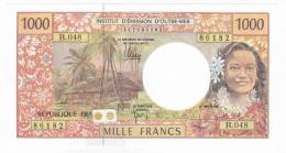 Polynésie Française / Tahiti - 1000 FCFP / B.048 / 2012 / Signatures Barroux-Noyer-Besse - Neuf / Jamais Circulé - Papeete (Polynésie Française 1914-1985)