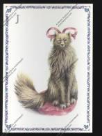 CHAT : Série Alphabet : Lettre J : Cat Katz Gatto  ( Editions Gendre Illustration Armelle Boy Chats Cats) - Katten