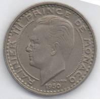 MONACO 100 FRANCS 1950 - Monaco