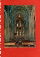 Carte Postale -Disque LA CATHEDRALE SAINT PIERRE INTERIEUR  GENEVE (SUISSE)( 45 Tours) - Audiomaster S A MARTEREY - Religion & Gospel