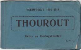 Torhout IJzerfront Thourout Yserfront Zicht- En Oorlogskaarten Boekje Bevat 6 Van De Oorspronkelijke 10 Kaarten N104 - Torhout