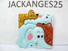 KINDER PUZZLE PLASTIC K98 N 9 1997 +  BPZ - Puzzles