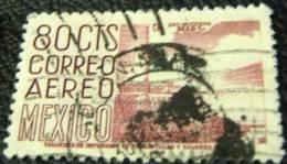Mexico 1950 Stadium 80c - Used - Mexico