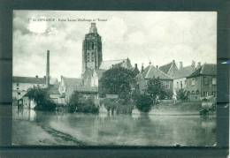 Audenarde  -  Eglise Sainte Walburge Et Escaut - Oudenaarde