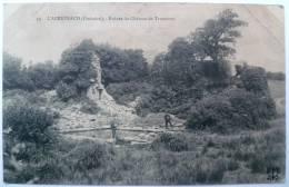 29 : L´Abervrach - Ruines Du Château De Tromenec - Animée - Frankreich