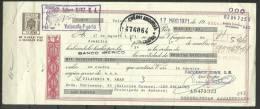 ESPAÑA - LETRA DE CAMBIO , BANCO IBERICO  17 DE MAYO    1.971 (S.G.F.) - Letras De Cambio
