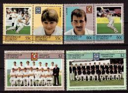 ST VINCENT GRENADINES  N°  386/91    ( Cote 7e )      **   Cricket - Cricket