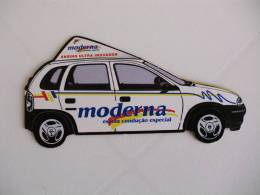 Advertising Car Portuguese Pocket Calendar - Calendriers