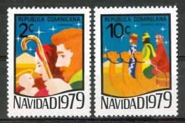 1979 Repubblica Dominicana Natale Christmas Noel Set MNH** Nat 118 - Repubblica Domenicana