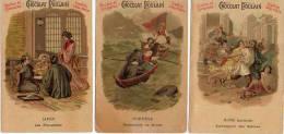 Chocolat Poulain - Mariage Chez Tous Les Peuples X 3 Japon, Norvège, Rome - Poulain