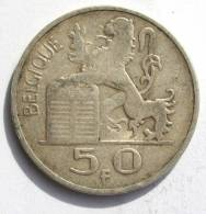 BELGIQUE: 50 Francs Argent Type Mercure Prince Charles 1948 - BELGIË: 50 Frank Zilver Type Mercurius Prins Karel 1948 - 1945-1951: Regency
