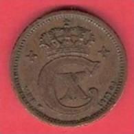 DENMARK  # 1 ØRE BRONZE FROM YEAR 1913 - Danemark
