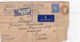 [Z2] Royaume-uni United Kingdom Entier Postal Recommandé Special Registered Postal Stationery - Groot-Brittannië
