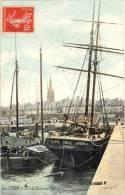 35 - Saint-Malo - Lot De 3 CP - Départ Terre-Neuvier Phare Du Jardin, Bassin, Rentrée D'un Terreneuvas - Malo_V27 - Saint Malo