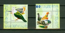 Vignetten Vignettes,2V,birds,vogels ,oiseaux, Pajaros,aves,vögel,MNH/Po Stfris(D1441) - Fantasie Vignetten