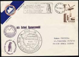 "ANTARCTIC,POLEN, Expedition 1984/85, Base ""Henryk ARCTOWSKI"", Dienstbrief !! - Unclassified"