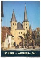St. Peter Zu Wimpfen - Baden-Württemberg - Deutchland - Bade-Wurtemberg