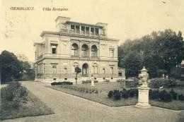 Gembloux -Villa Romaine - Cachet Allemand ( Voir Verso ) - Gembloux
