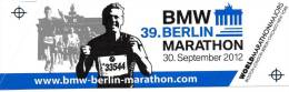BERLIN MARATHON Maratona  Berlino Adesivo Sticker - Atletica