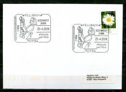 "Germany 2008 Stempelkarte/Motiv Wein/Vino Mit Mi.Nr.2451 U.SST"" 70734 Fellbach-Philatelie Und Wein""1 Karte - Vini E Alcolici"