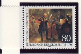 1986 Berlin Germany Complete Frederick The Great  Set Of 1 Stamp Michel # 764 - Neufs