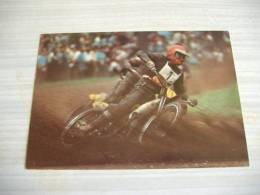 Carte Postale Moto JAWA Speedway - Motorfietsen