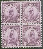 Mi 348** OLIMPIC GAMES LOS ANGELES_RUNNER 4BL - Unused Stamps
