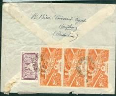 Lettre Affranchie D'indochine Pour La France En 1950  - Phi10702 - Covers & Documents
