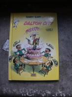 LUCKY LUKE  DALTON CITY PETIT FORMAT CARTONNE PUB   MORRIS - Lucky Luke