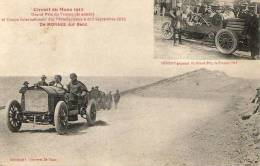 Circuit Du Mans 1912 - Grand Prix De France - Automobile De Moraes Sur Benz - Le Mans
