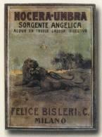 TARGA PUBBLICITARIA - FELICE BISLERI - MILANO / Acqua Da Tavola NOCERA-UMBRA  Sorgente Angelica - Anni ´10 - Liquor & Beer