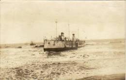 Lot De 3 Photo-carte Originales - Naufrage Du Croiseur Infernet Avec Commentaires Du Rédacteur De La CPA - Sables D'Olonne