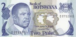 BOTSWANA 2 PULA ND/1982 ***UNC*** P-7a - Botswana