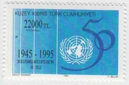 50th Anniversary Of United Nation / UNO  MNH Turkish Cyprus - Cyprus (Turkey)