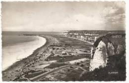 DIEPPE - Vue Générale De La Plage Du Haut Des Falaises - 1950 - Dieppe