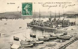 Ajaccio - Escadre De La Méditerranée Dans Le Port - Ajaccio