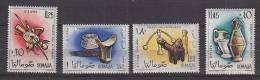 PGL AD528 - SOMALIE Yv N°17/18 + AERIENNE ** FOLKLORE COSTUMES ARTISANAT - Somalia (1960-...)