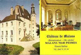 ~  70  ~   CHATEAU  MALANS .  PESMES   .  Cp Sympa Et Pas Cher  ~ - Non Classés