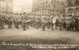Nancy - Remise De La Légion D'honneur Et De La Croix De Guerre A La Ville, 12 Octobre 1919 - Photocarte - Nancy