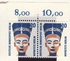 1989 Berlin Germany MNH Definitive Nofretete Bust Pair Of Stamp Michel 831 - [5] Berlin