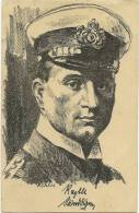 WWI -  Marine - Kapitän Weddingen - Signiert Köhler - Stuttgarter Kriegerfamilien - War 1914-18