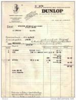 ALLIER - MONTLUCON - SOCIETE ANONYME DES PNEUMATIQUES DUNLOP - AUTOMOBILE - 1930 - Cars