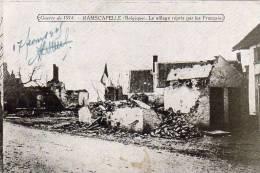 Ramscapelle (belgique) - Le Village Repris Par Les Français - Guerre 1914 - Other