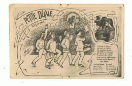 Petite Décale  Illustration   L  Antoine - Künstlerkarten