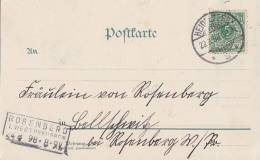 DR AK Heidelberg EF Minr.46 Ankunftsst. Rosenberg In Westpreussen 24.8.98 - Deutschland