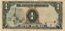 The Japanese Government V. 1944 ? --- One Peso (988) - Japan
