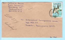 Jamaika Jamaica Jamaique Brief Cover Lettre 604 J.J. Andubon Vögel Tiere   (22988) - Jamaica (1962-...)